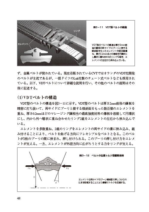 「無段変速機CVT入門」ページサンプル