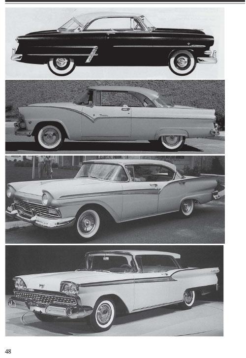 「テールフィン時代のアメリカ車」ページサンプル